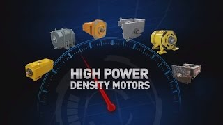 High Power Density AC Drilling Motors from Ward Leonard