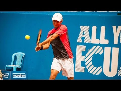 [HD] Renzo Olivo vs. Fernando Verdasco | R2 Quito 2016 [Highlights]