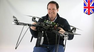 BioCarbon Engineering: ex-NASA engineer to plant one billion trees with drones - TomoNews