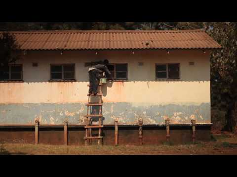 Painting Malawi Building
