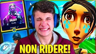 "IF I LAUGH I HAVE TO SHOP A SKIN!! TRY not TO RIDERE challenge ""EXTREC"" on Fortnite"
