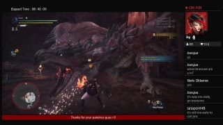 Jinx kills a giant glowing baby space dragon: Arch Tempered Xeno MHW