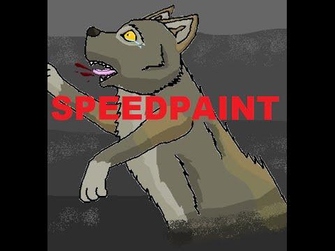 IM STILL ALIVE! | Wolf Speedpaint