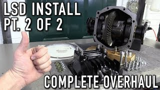 240SX Rear End Rebuild Part 2.5:  Installing A Limited Slip Differential (Complete Overhaul 2 of 2)