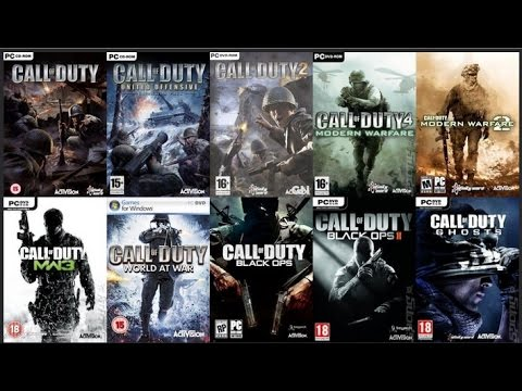Call of Duty Evolution 2003 UNTIL 2016 Poster