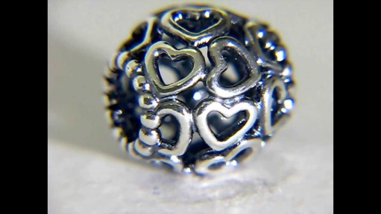 Pandora Silver Open Your Heart Charm 790964