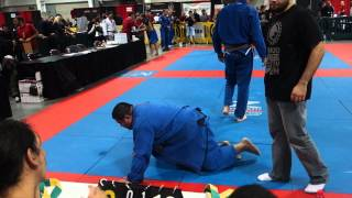 Renzo Gracie Black Belt Alberto Marchetti at Renzo Gracie Invitational 2013 - Final