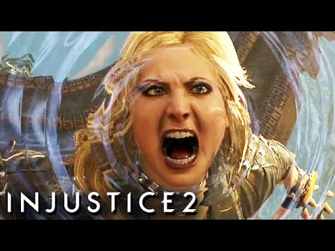Injustice 2 Gameplay German Story Mode - Black Canary Vs. Catwoman