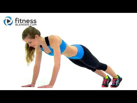 Cardio, Abs & Butt Workout - Fitness Blender's Red Light Green Light Workout