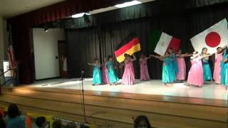 Woh Kisna Hai song at MOE Intl Night 2010