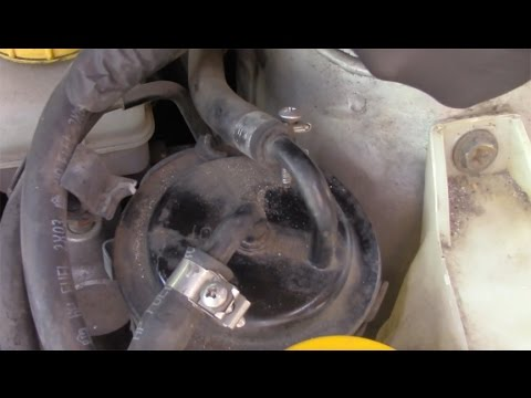 How to change your Fuel Filter on your Subaru - YouTubeYouTube