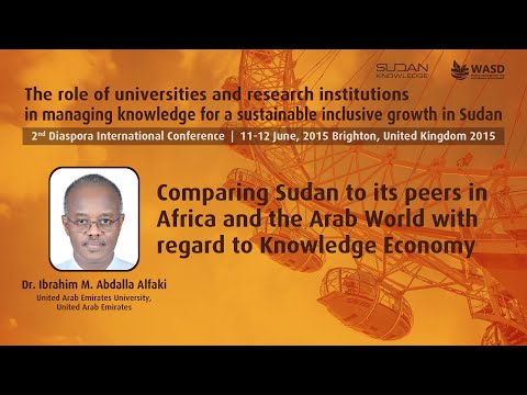 Comparing Sudan to its peers in Africa and the Arab World with regard to Knowledge Economy