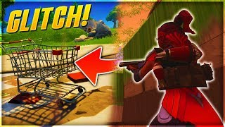 (GLITCH) ALLER THE MAP of FORTNITE with THE CADDIE!!