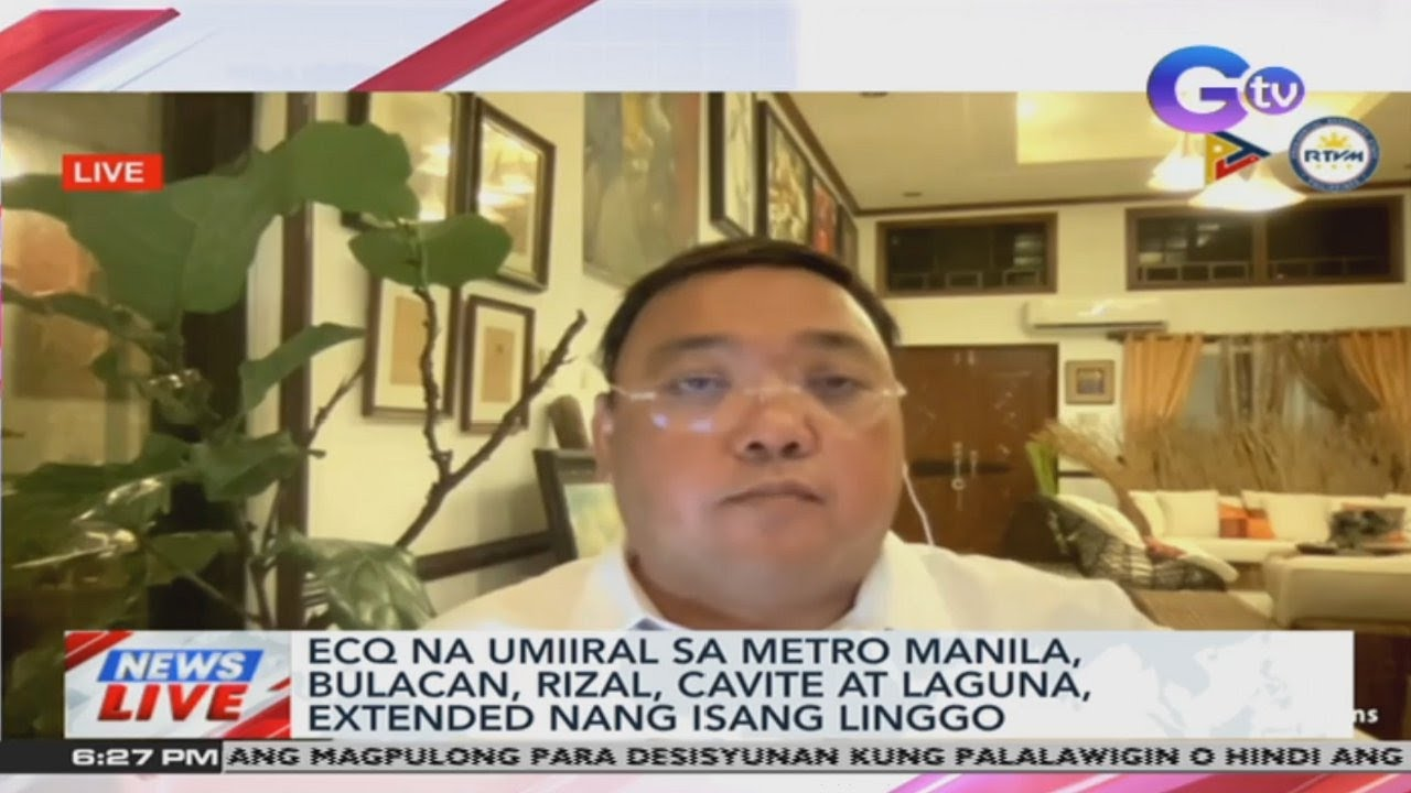 ECQ extended by a week in NCR Plus areas | News TV Live