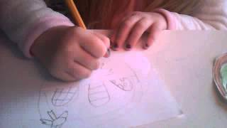 how to draw a easter egg baset