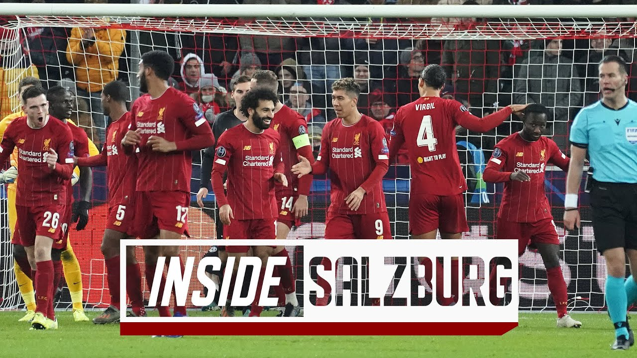 Inside Salzburg: FC Salzburg 0-2 LFC | Capture the atmosphere of the Reds' European away day