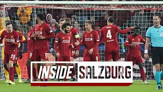 Inside Salzburg: FC Salzburg 0-2 LFC | Capture the atmosphere of the Reds' European away day