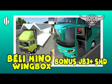 REVIEW Hino Wingbox & JB3+ SHD (bonusnya uncchh...) - 동영상