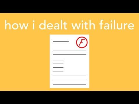 how i dealt with failure