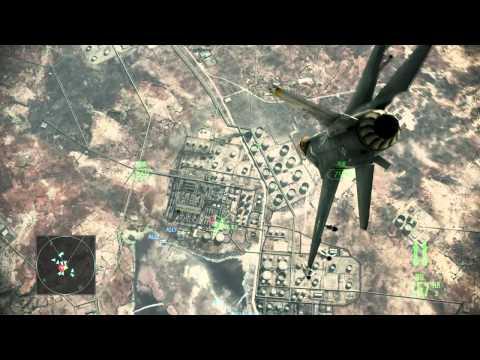 Ace Combat Assault Horizon 空戰奇兵:突擊地平線 HD 第二章 地獄