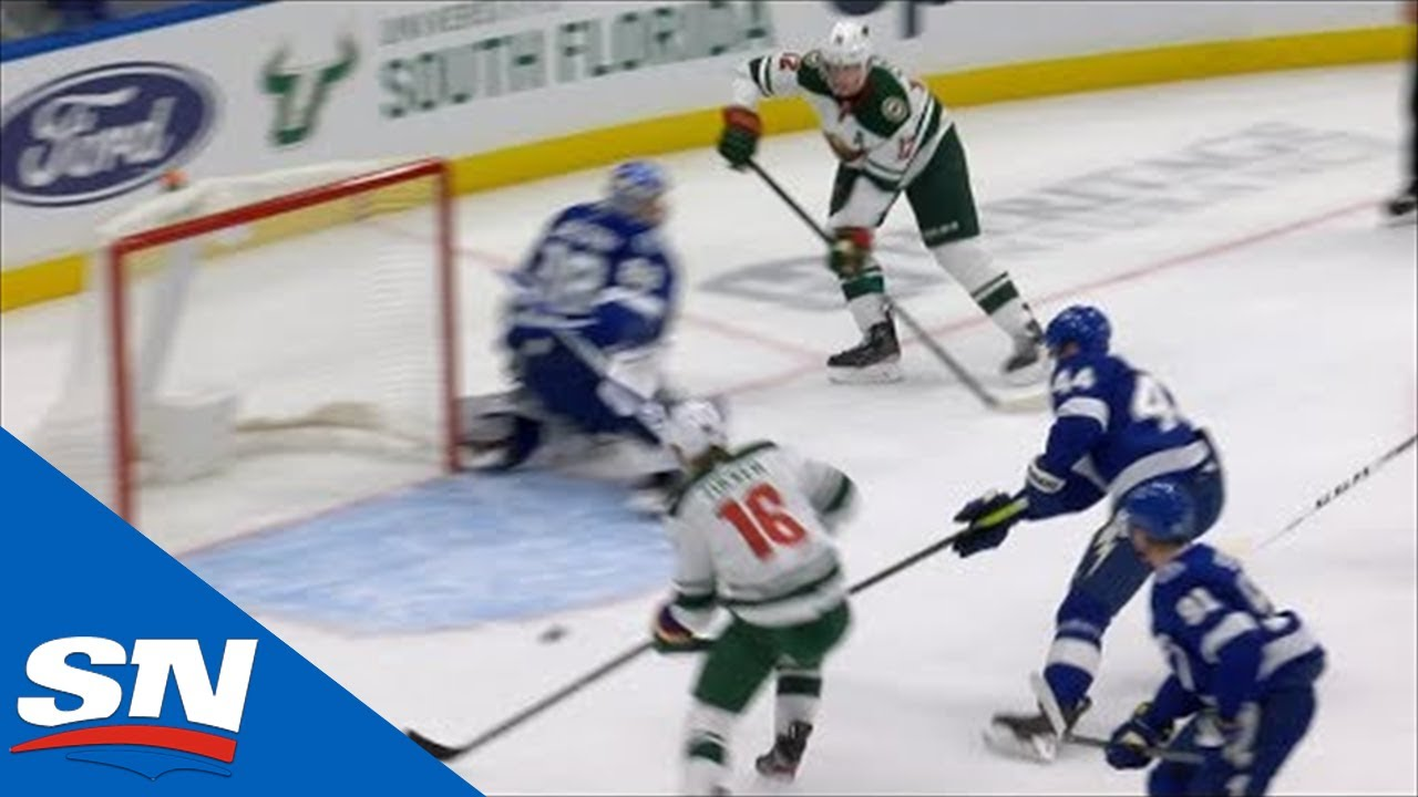 Wild S One Touch Passing Leads To Jason Zucker Goal Youtube