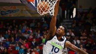 2017-18 All-NBA G League Rookie Team Highlights