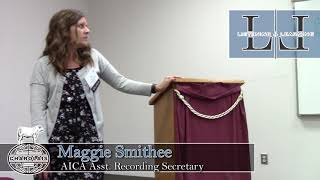Maggie Smithee | Assistant Recording Secretary | AICA Listening & Learning