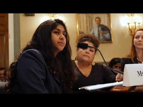 "Teen Environmental Activist Tells Congress to Stop Putting ""Profit Over People"""