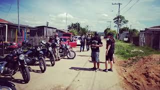 MG Pai e filhos moto estradeiros em parceria com MG Mundanos e MC Abutres Brasil