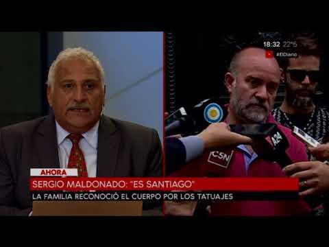 Se confirmó la muerte de Santiago Maldonado (Parte 1)