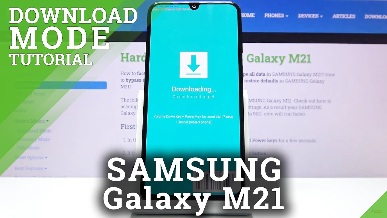Download Mode in SAMSUNG Galaxy M21 – Odin Mode / Flash Mode