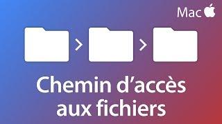 Afficher le chemin d'accès d'un dossier ou d'un fichier - Tutoriel Mac