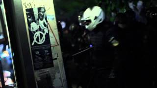 Police Violence in Exarcheia, Athens - Αστυνομική Τρομοκρατία στα Εξάρχεια - 17/11/13