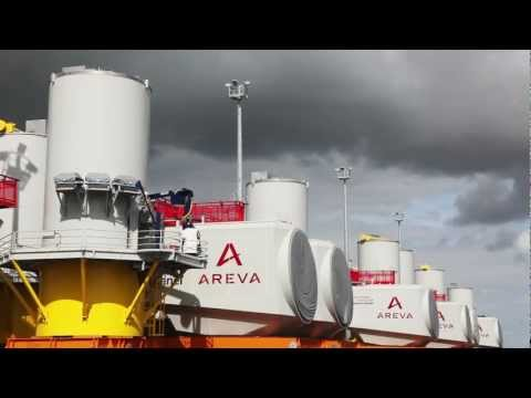 AREVA Wind and ABB offer reliable medium speed solution for offshore wind farms