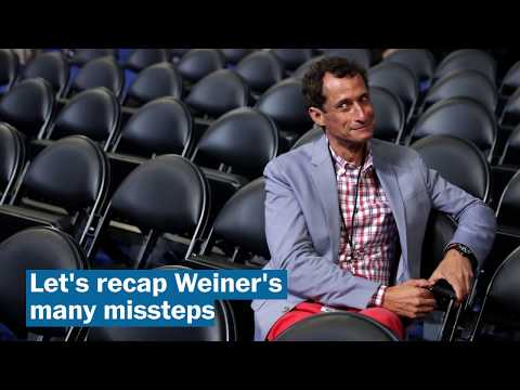 Anthony Weiner's endless sexting scandal rears its head again