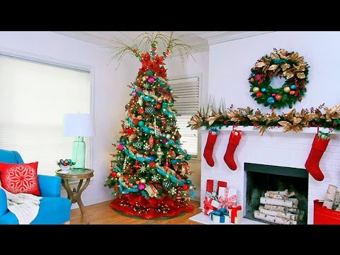 designer christmas tree decorating ideas youtube
