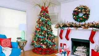 Designer Christmas Tree Decorating Ideas