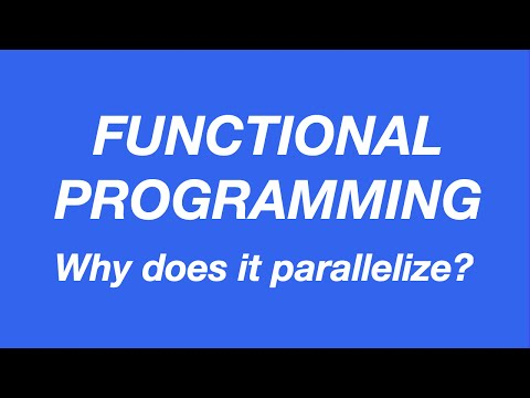 Why functional programs parallelise better | Code Walks 007