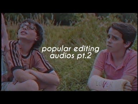 popular editing audios p2.