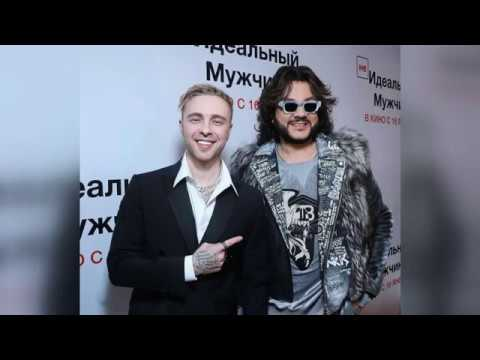 Филипп Киркоров и Егор Крид на премьере фильма Неидеальный мужчина, 24.12.2019