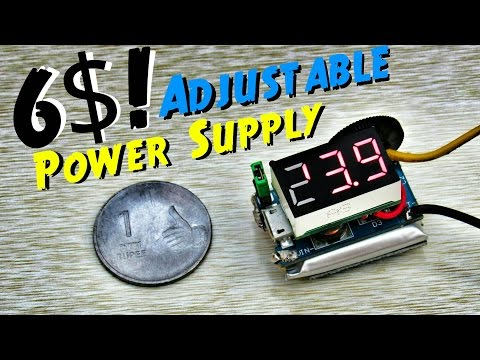 Portable Variable Power Supply 3v to 24v With Voltmeter