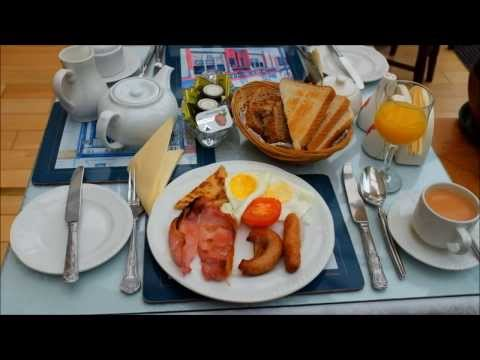 Irish Breakfast at Asgard Guesthouse Galway, Ireland  アイルランド ゴールウェイ B&Bの朝食