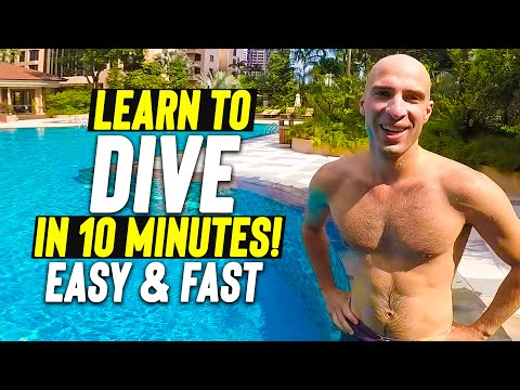 Learn to Dive in 10 Minutes * swimming skill