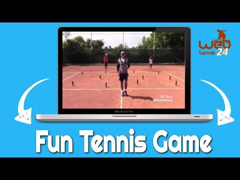 Fun Tennis Game For Kids: TIDY/MESSY