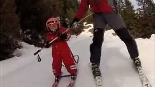 Lily's 5th day on skis Thumbnail
