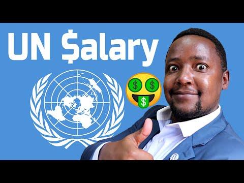 UN Jobs Salary Scale | United Nations Salary Range