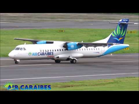 Running from Hurricane Maria - Air Caraibes ATR 72, 500 & 600 @ Argyle International