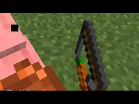 Tuto comment monter et conduire un cochon minecraft youtube - Minecraft cochon ...
