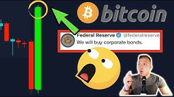 OMG!! BITCOIN EXTREME BOUNCE AS FEDERAL RESERVE DROPPED HYPERINFLATION BOMB! [$19'000'000'000'000.]