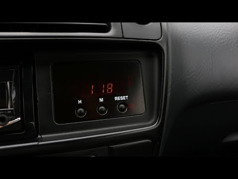 Honda Civic - Time Setting